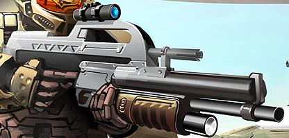 BR55SA CQC Battle Rifle