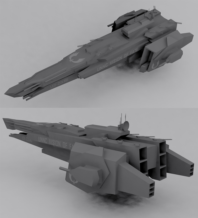 Draco-class Destroyer