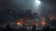 Halo UNSC Crashed Starship TPF