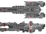 Warrior-class destroyer