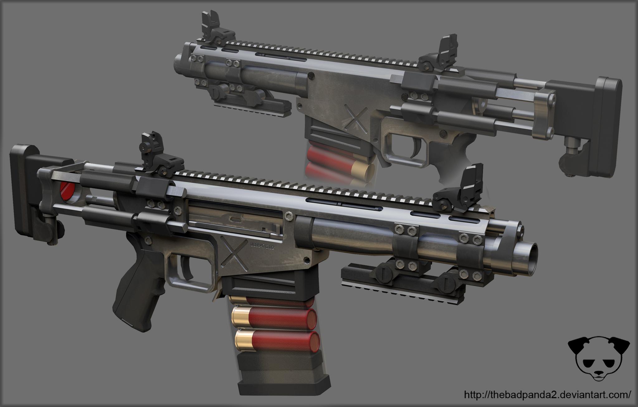M77 Extreme Close Quarters Combat System