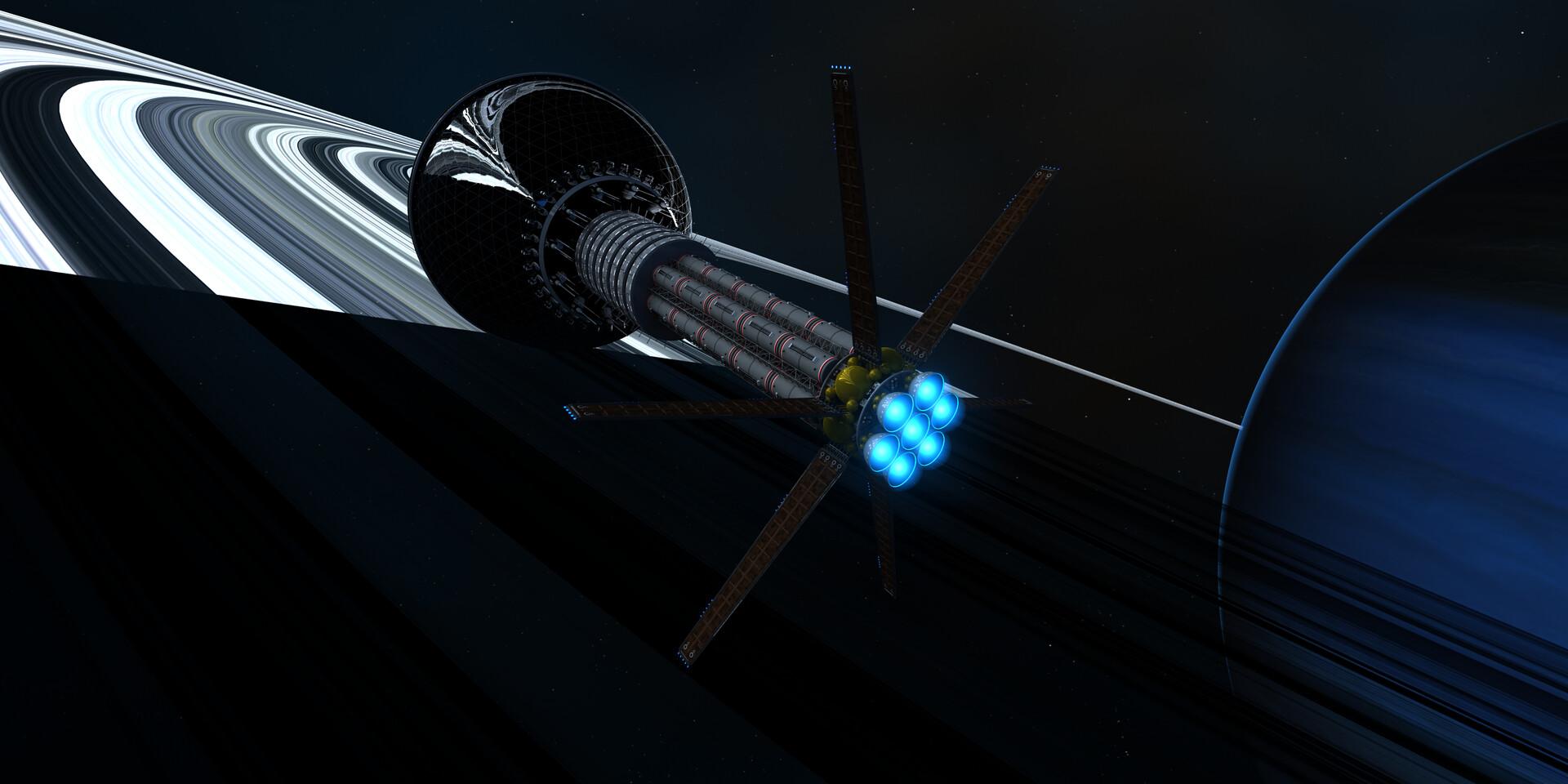 Enzmann Starship
