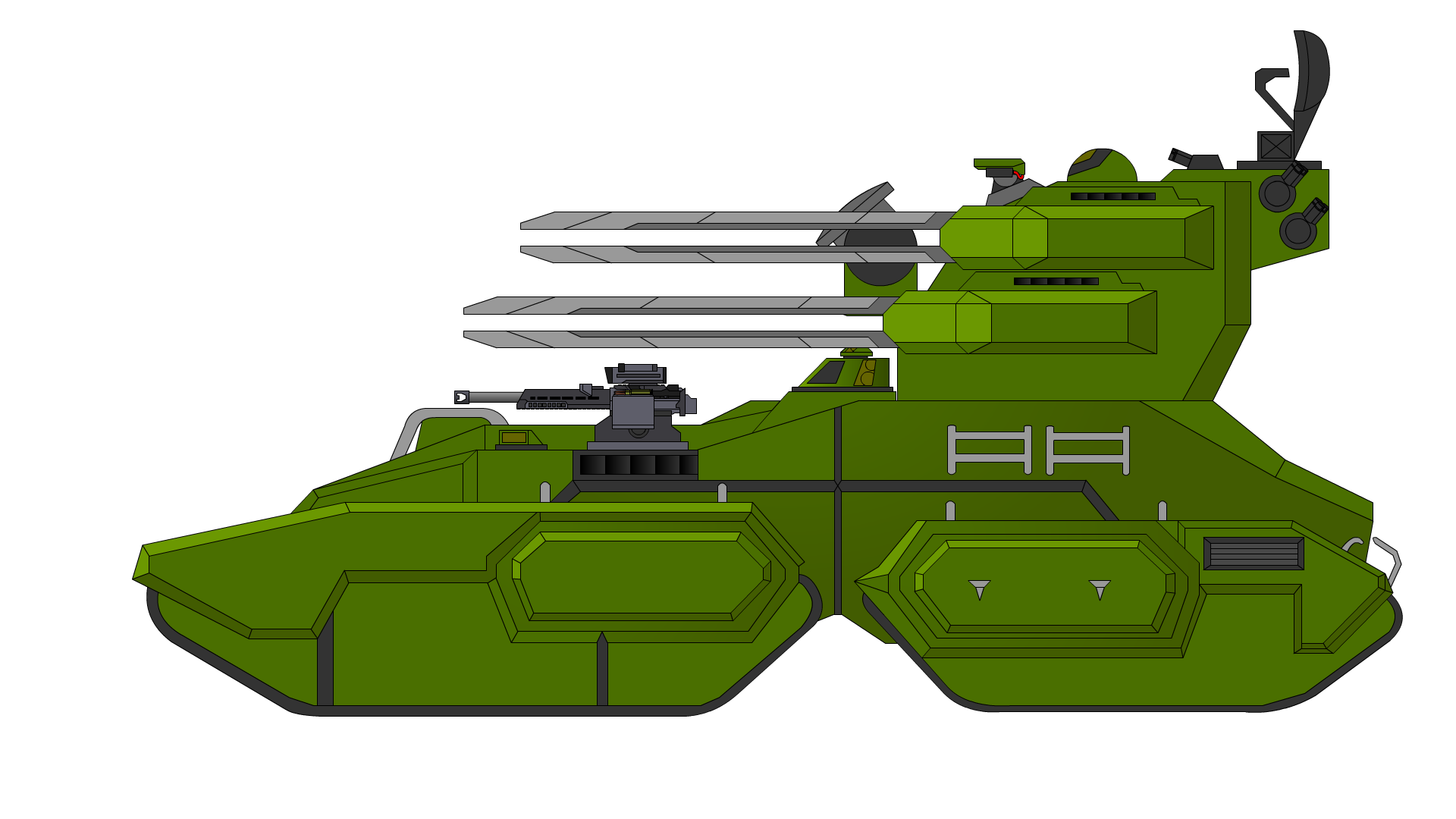 M809A Deathstalker Self Propelled Anti Aircraft Gun
