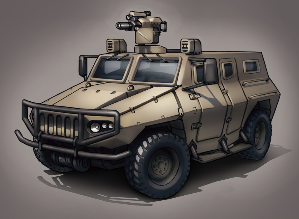 Dragon infantry mobility vehicle