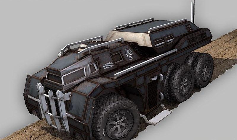 Battlefield Command Vehicle-V Leader