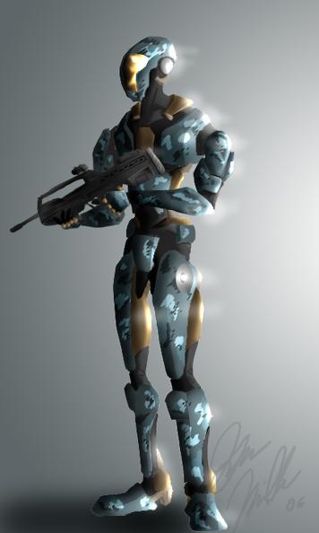 Mechanoid Combat Unit