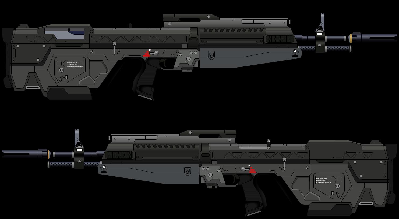 M55C Enhanced Battle Rifle