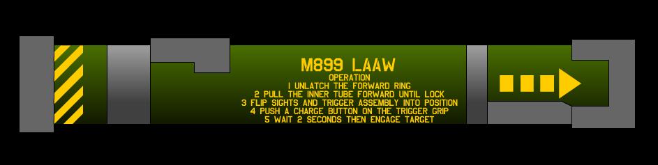 M899 Light Anti Armour Weapon