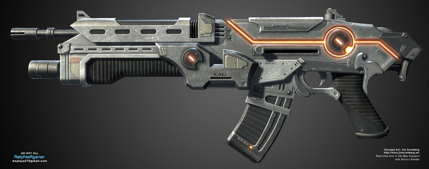 Kalash Directed Energy Rifle