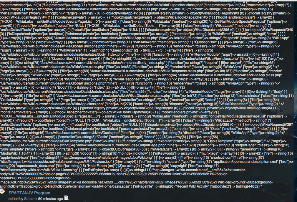 Computer Gibberish on top of pages