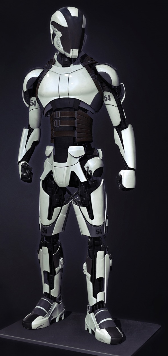 Combat AI-controlled Trooper Droid