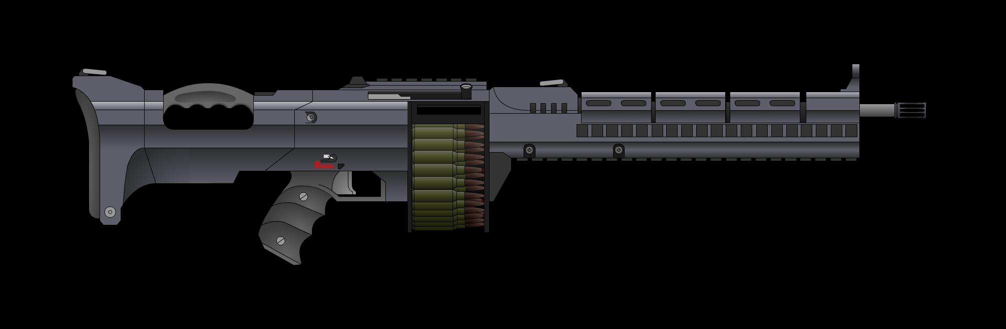 M122 Light Machine Gun
