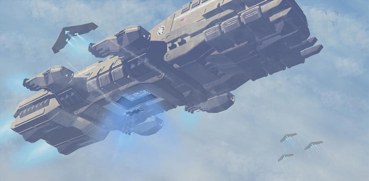 Endeavour-class Assault Ship
