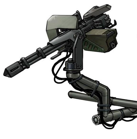 M343A3 Heavy Machine Gun