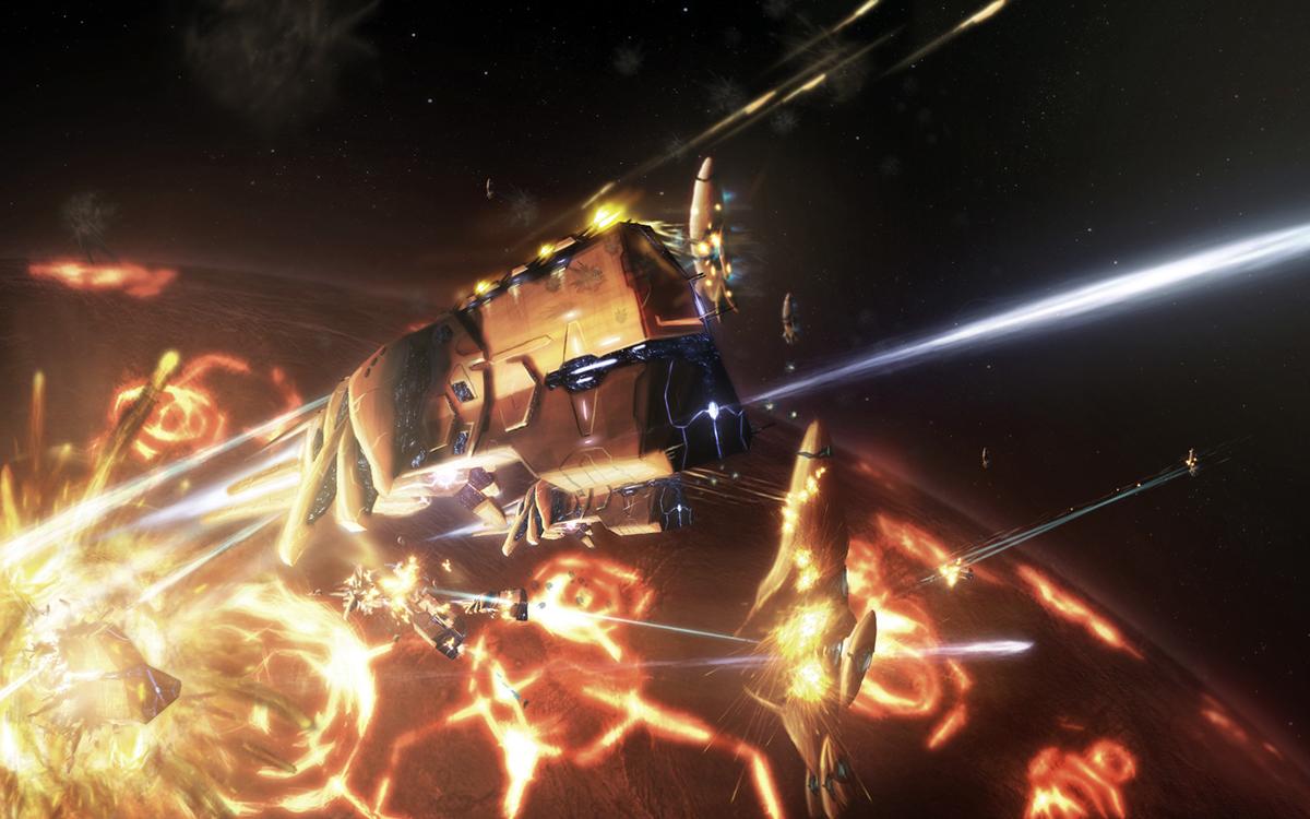 Battle of the Antaeus Nebula