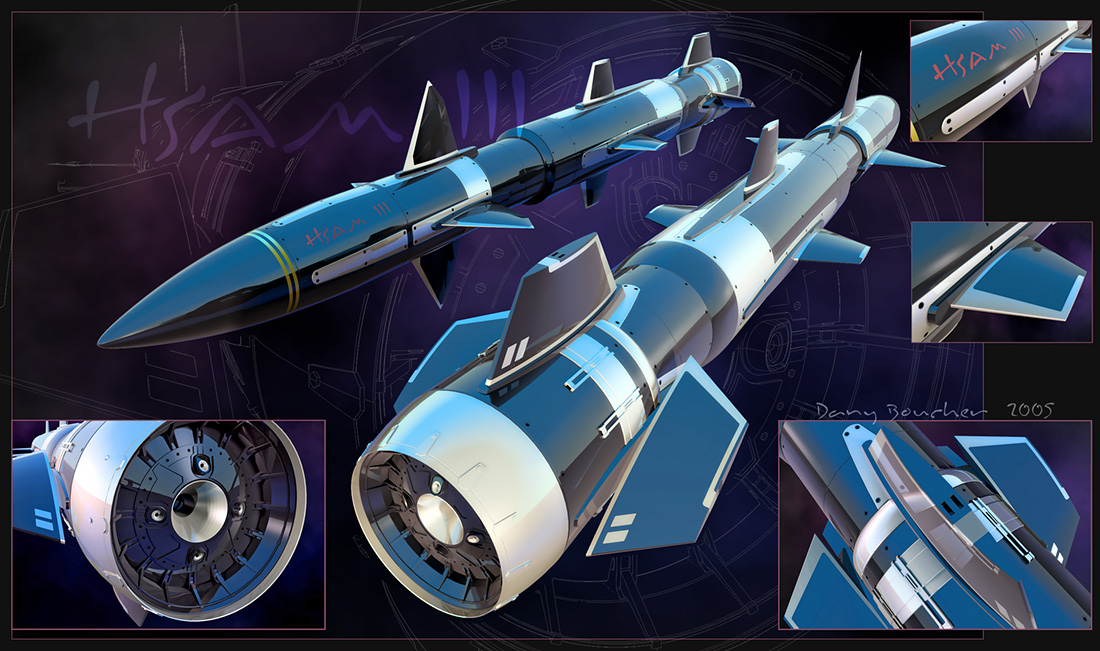 M5 Hornet Interceptor Missile