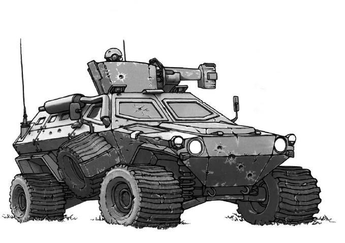 M13-X Lynx Light Reconnaissance Vehicle