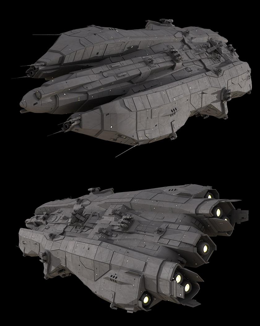 Headstrong-class Light Cruiser