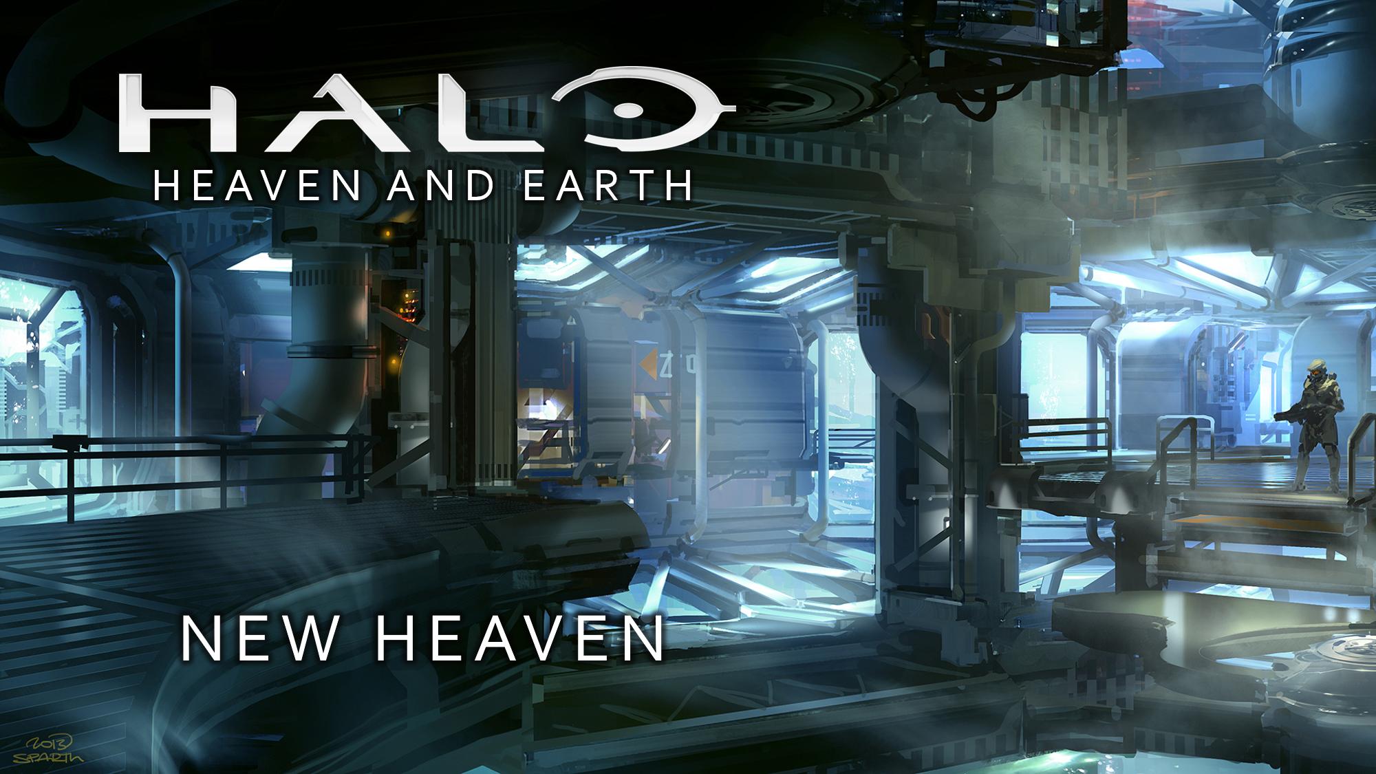 Halo: Heaven and Earth/Book One: New Heaven