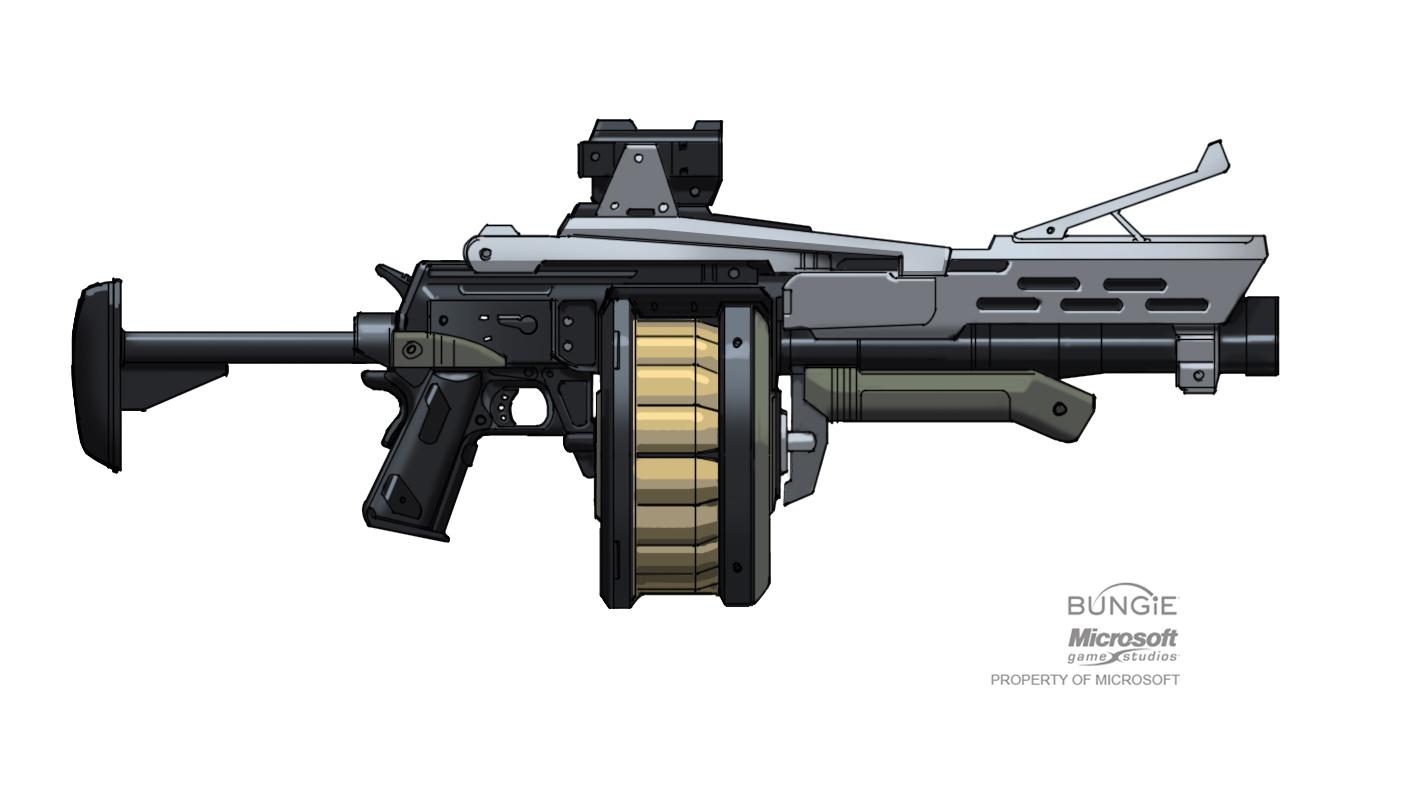 M23 Multiple Grenade Launcher