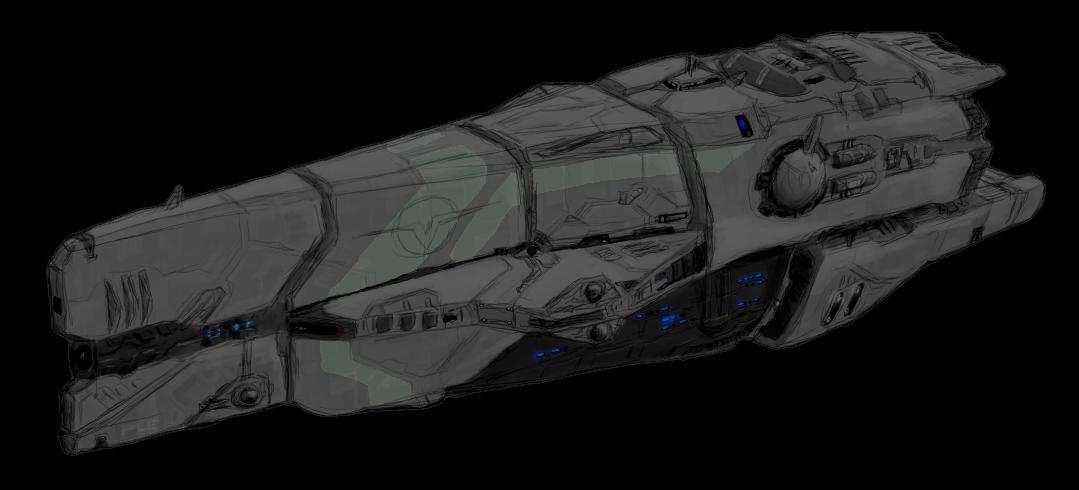 Black Wolf-class Light Cruiser