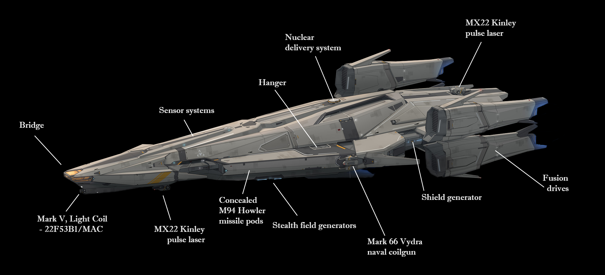 Qianliyan-class stealth frigate