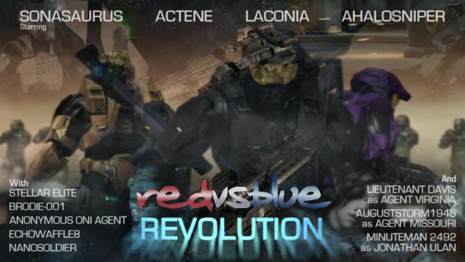 Red vs Blue: Revolution