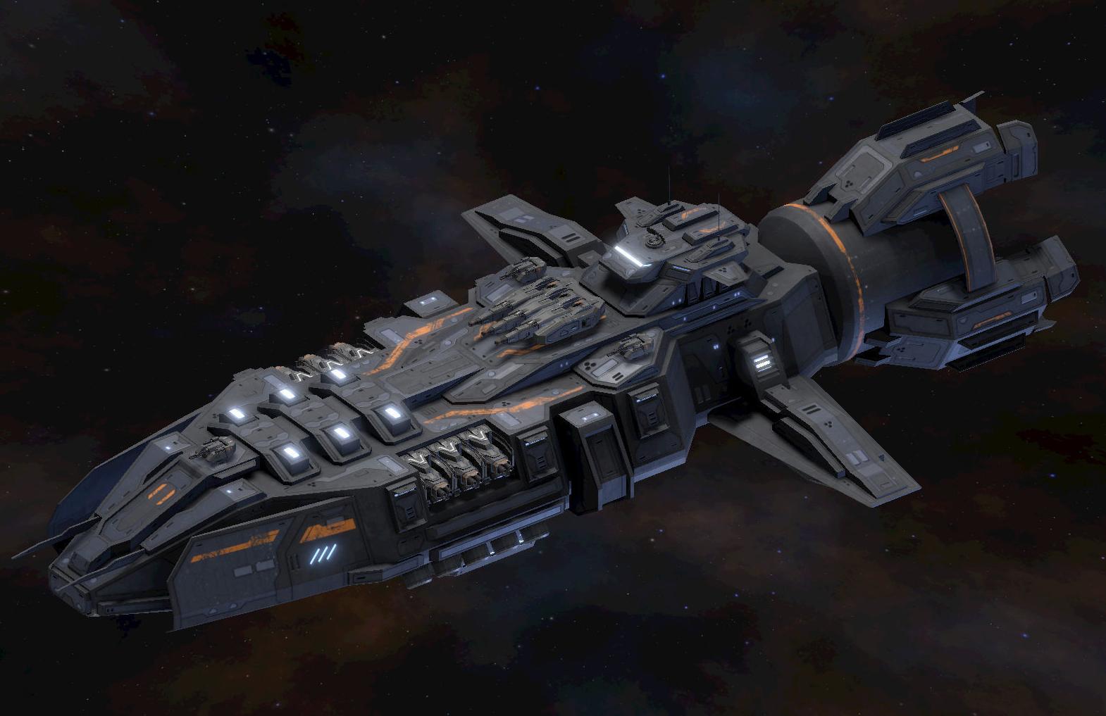 Romulus-class heavy corvette