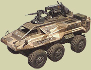Amphibious Personel Carrier-I Wader