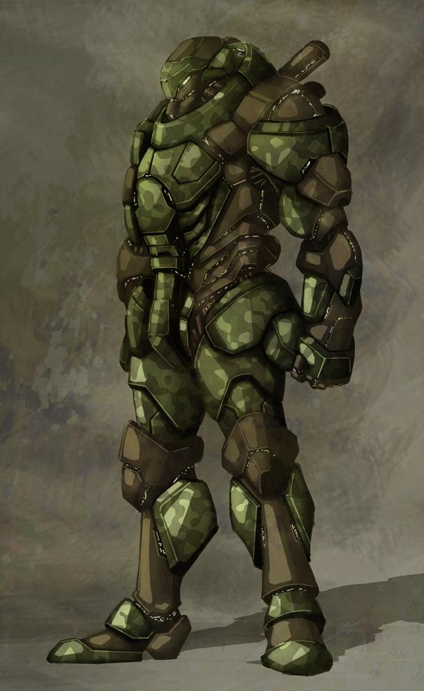 DRAGON Heavy Assault Exoskeleton