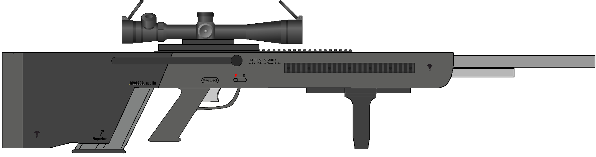 M909 Special Applications Scoped Rifle