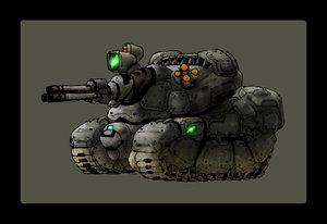 Benvora Ultra Light Tank Model-1