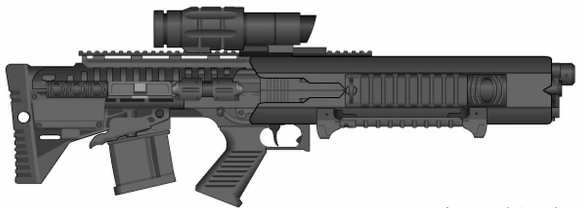 MA1A assault rifle