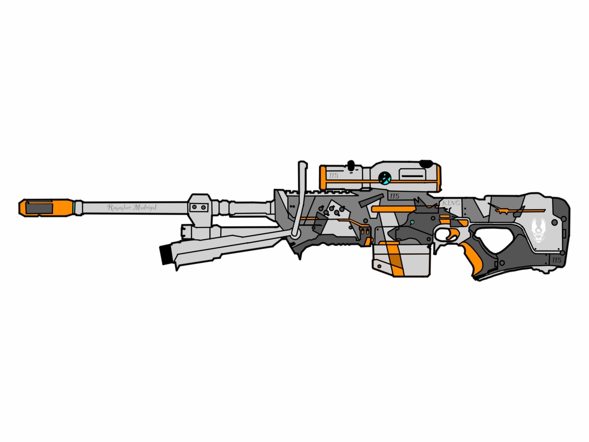 Sniper Rifle System 99-Series 5-B Anti-Matériel