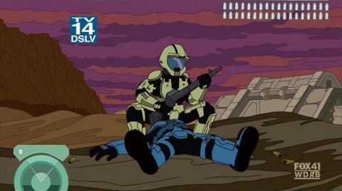 Simpsons mode halo 3