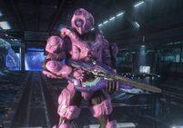 HO pink spartan