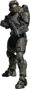 Halo 4 Master Chief front