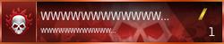 Halo Online Beta Nameplate