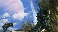 Halo anniversary ost concept cover