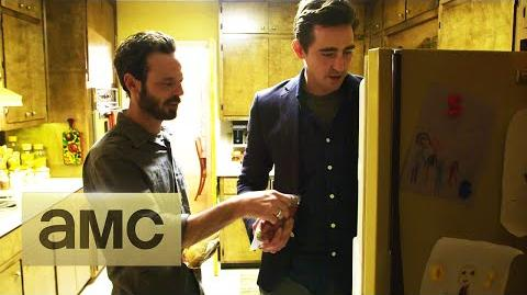 """""""Halt and Catch Fire"""" - Set Tour with Lee Pace and Scoot McNairy"""