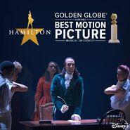Hamilton Golden Globe nomination
