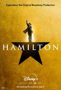 Hamilton - Disney+ poster - George Washington