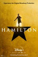 Hamilton - Disney+ poster - King George III