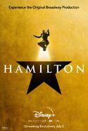 Hamilton - Disney+ poster - Marquis de Lafayette