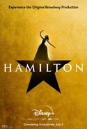 Hamilton - Disney+ poster - Angelica Schuyler