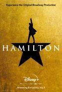 Hamilton Disney+ Poster