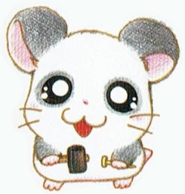 Hamtaro-HamHamHeartbreak Panda Artwork