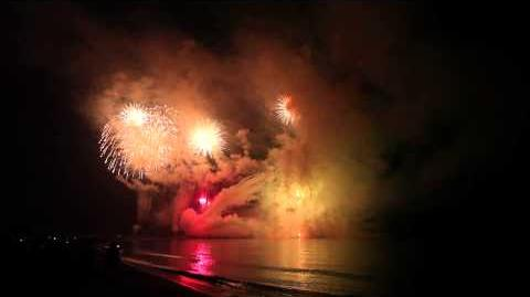 2013 寺泊港まつり 海上大花火大会 「海上フェニックス」 Teradomari Fireworks Festival