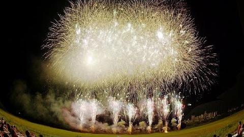 4K Ultra HD Matsudo Fireworks 松戸花火大会 Finale ( Shot on RED EPIC DRAGON )