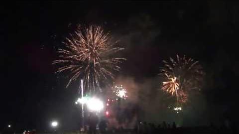 伊予彩まつり 花火大会 愛媛県伊予市 2013年7月28日-0